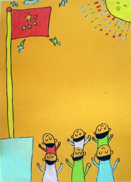 小学生的儿童画