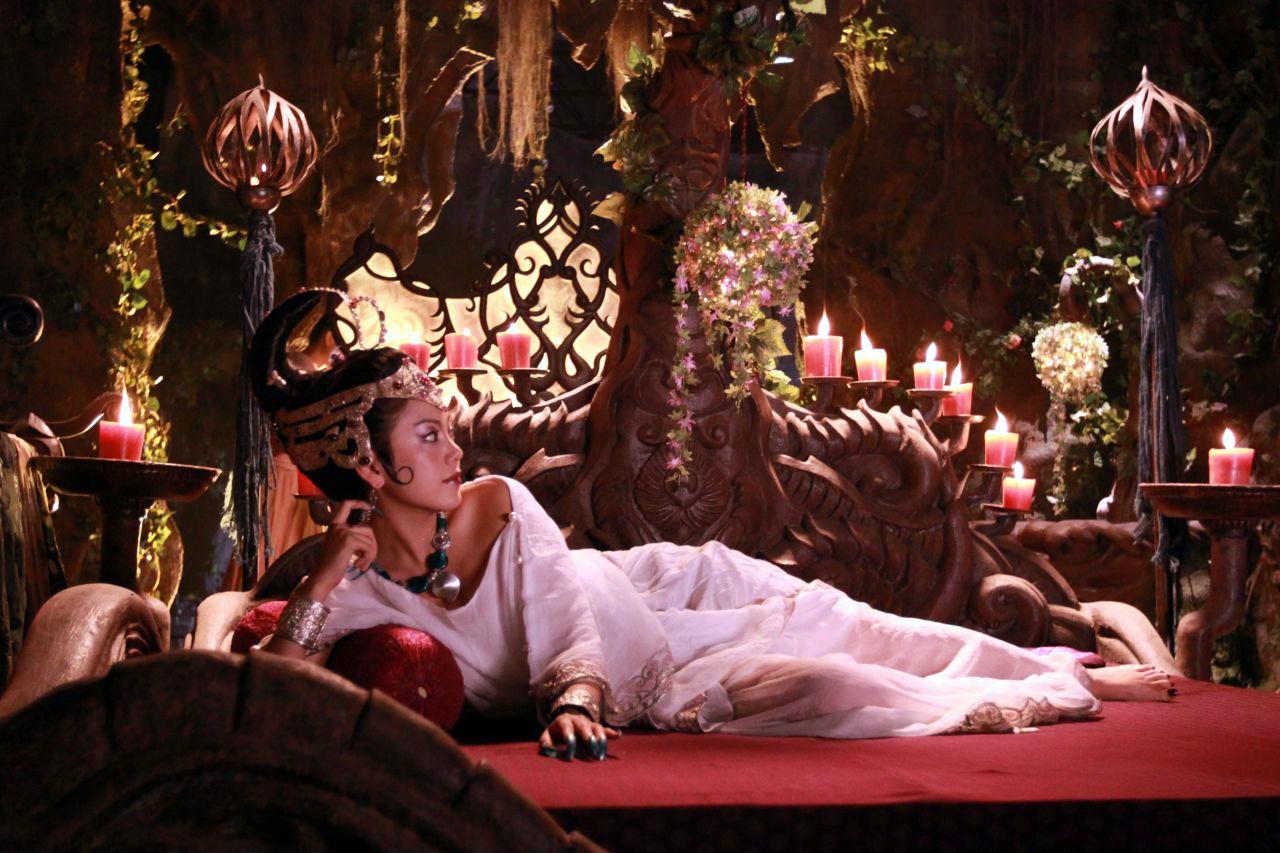 《西游记》蝎子精――中国吉林美女演员赵文琪