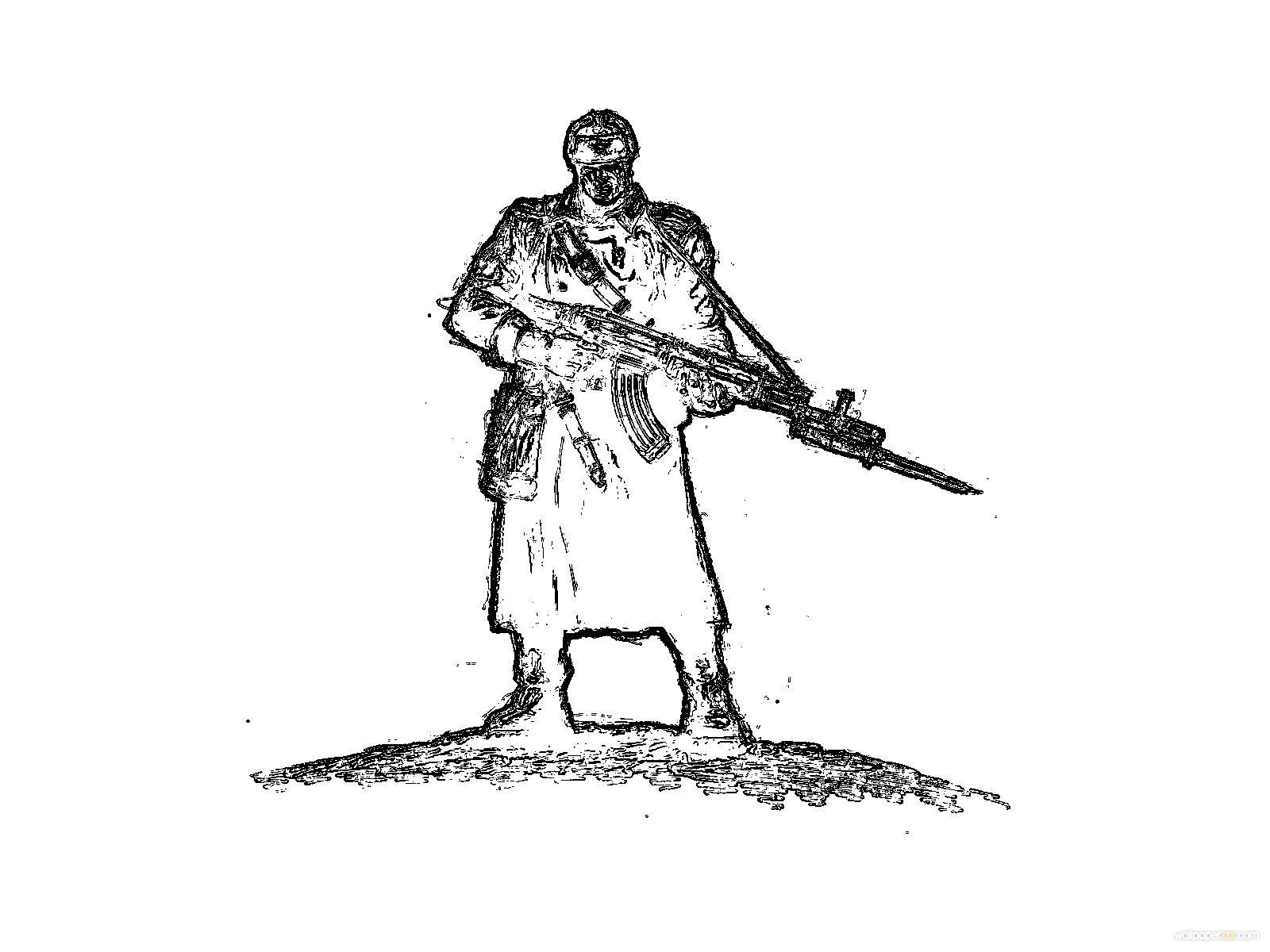 红alertmunist步兵免费1600x12