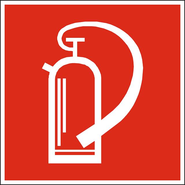 灭火器灭火器标志灭火器使用方法图片