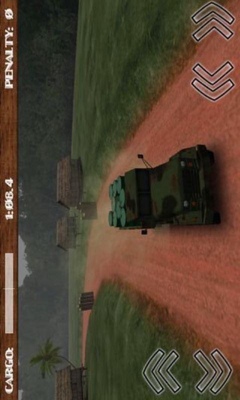 泥路货卡车