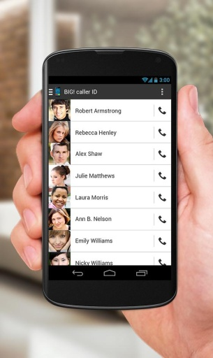 BIG! caller ID-应用截图