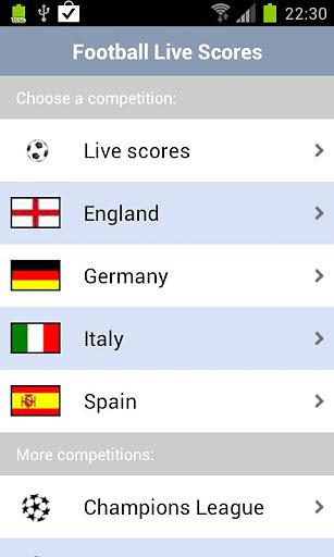 【免費體育競技App】足球直播比数-APP點子