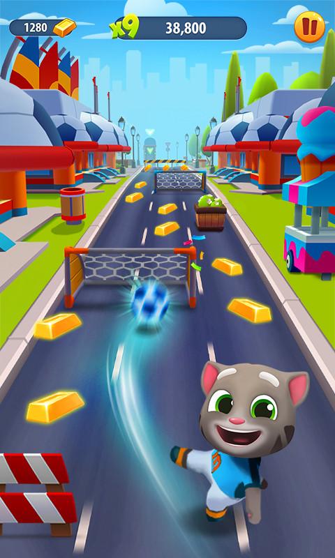 汤姆猫跑酷-应用截图