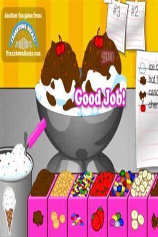 冰淇淋烹饪