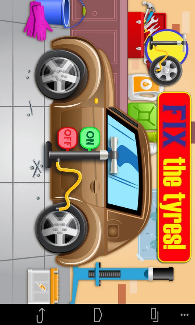 宝宝爱洗车|玩賽車遊戲App免費|玩APPs