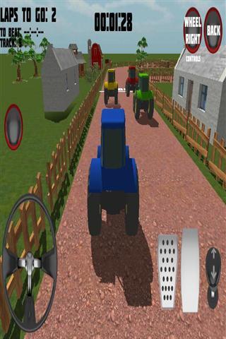 【免費賽車遊戲App】拖拉机农场赛车-APP點子