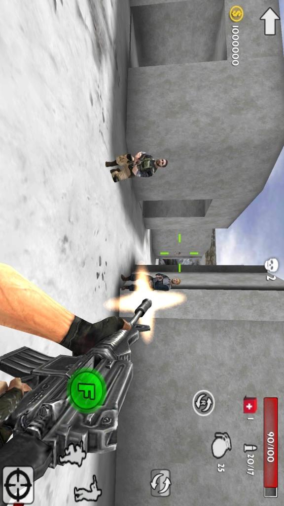 枪射击风暴3D-应用截图