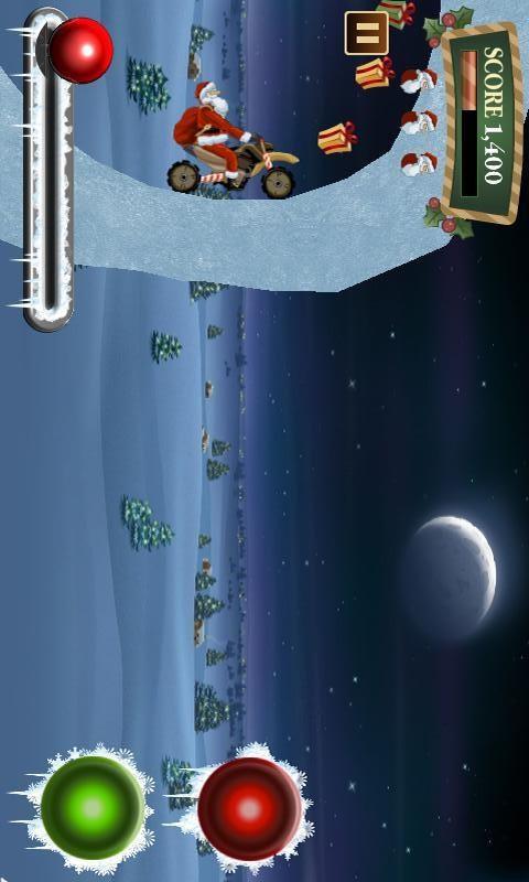 【免費體育競技App】圣诞老人骑车游戏-APP點子