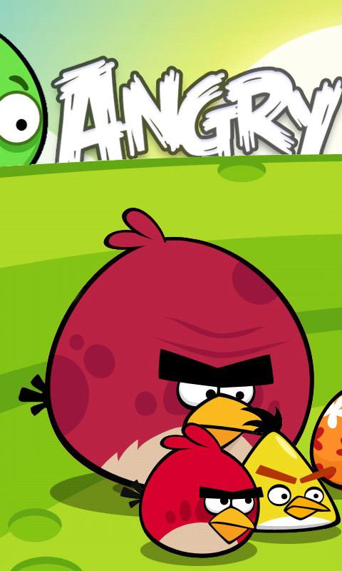 愤怒的小鸟1-桌面壁纸