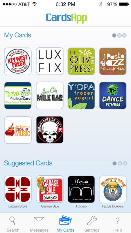 CardsApp-应用截图