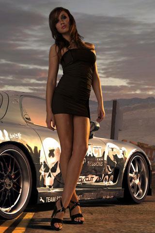 4D Racing Car