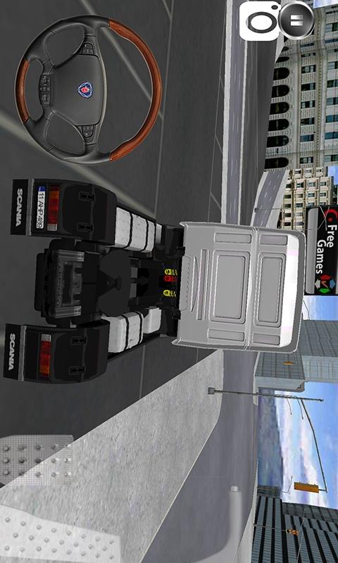 运输大卡车-应用截图