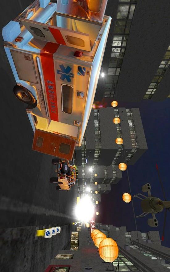救护车街道狂飙 賽車遊戲 App-愛順發玩APP