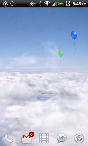 3D白云动态壁纸-应用截图