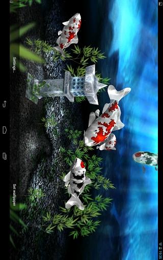 我的3D小鱼动态壁纸-应用截图
