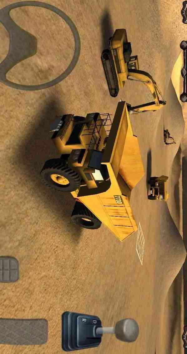 模拟采矿车