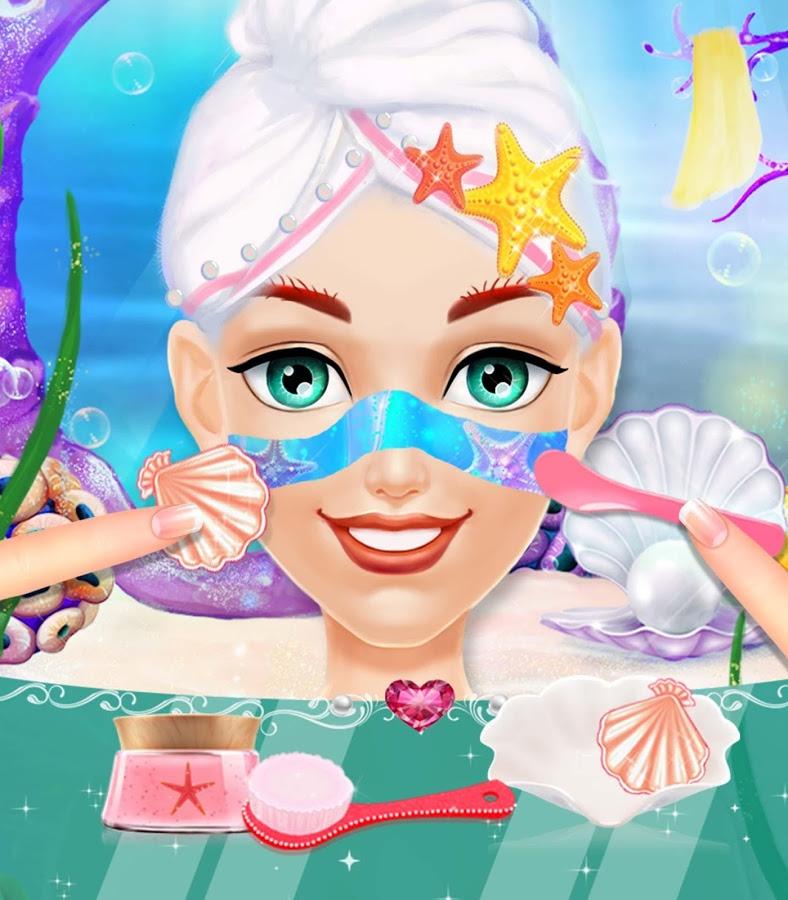 美人鱼公主化妆沙龙-应用截图