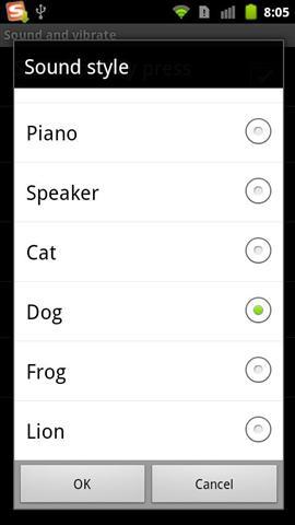 GO输入法动物类按键音 工具 App-癮科技App