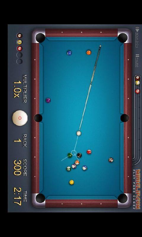 玩體育競技App|2D黑8桌球(经典版)免費|APP試玩