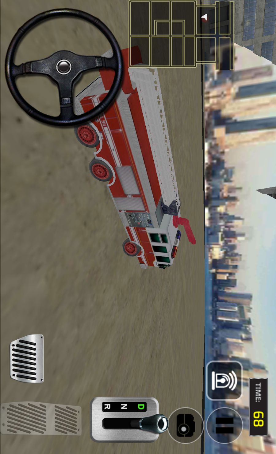 消防车模拟驾驶3D-应用截图