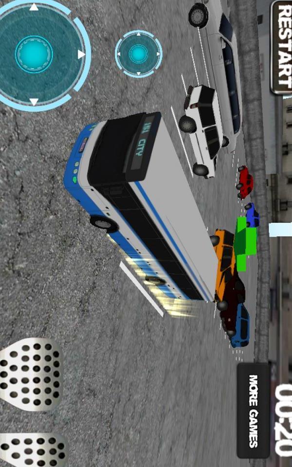 公车司机:停车模拟
