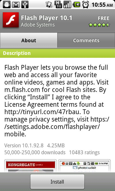 Adobe Flash Player-应用截图