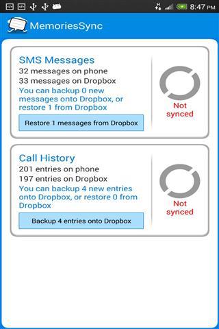【免費社交App】短信 呼叫日志同步-APP點子