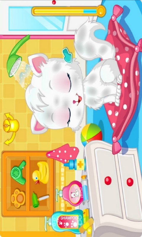 宠物猫SPA沙龙游戏HD-应用截图