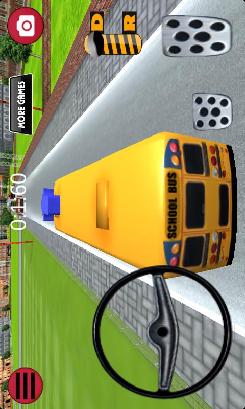 巴士停车-校车