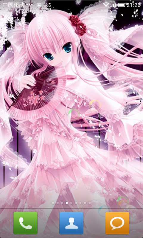 可爱动漫美少女动态壁纸