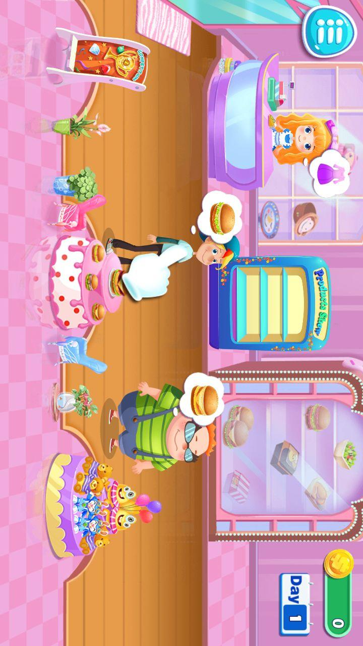 宝宝小厨房-汉堡餐厅-应用截图
