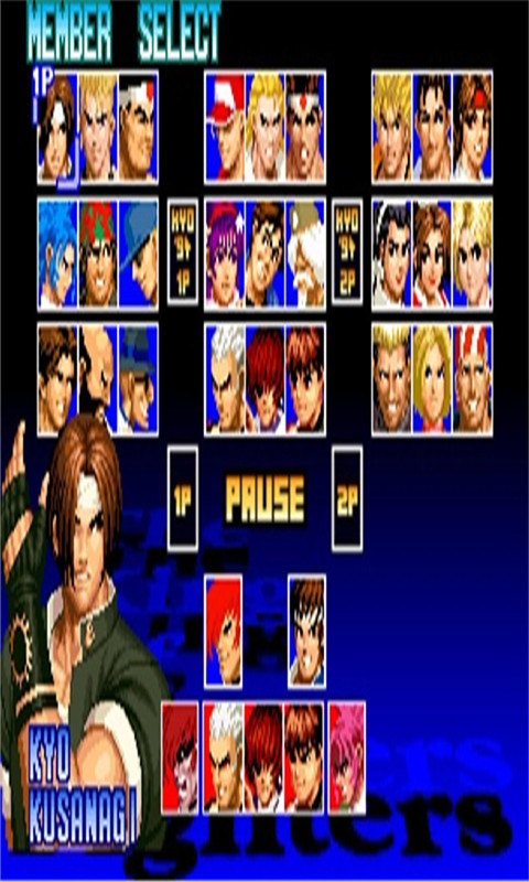拳皇97游戏 单机版
