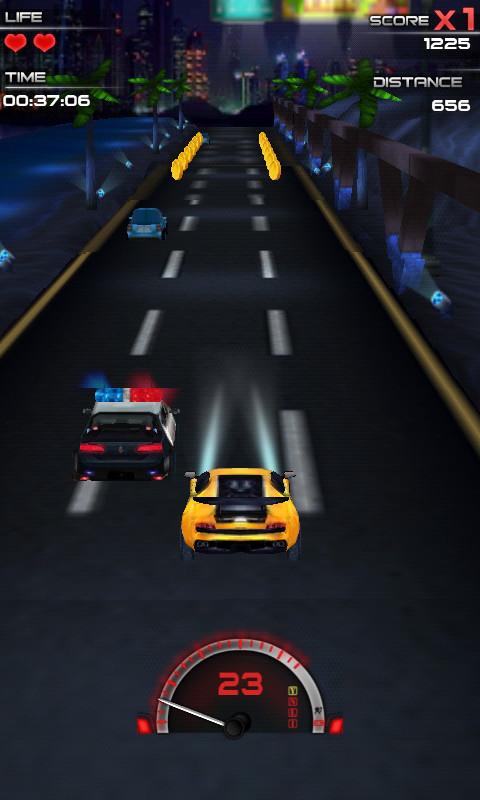 玩賽車遊戲App|深夜赛车手免費|APP試玩