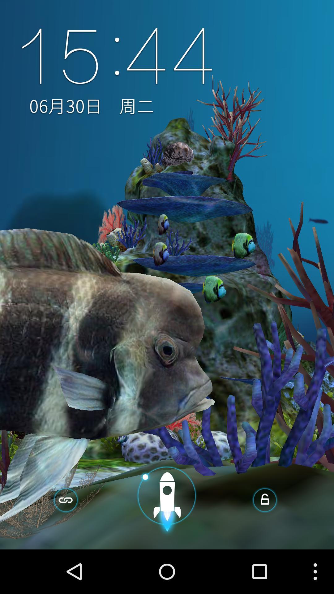 3D水族馆-梦象动态壁纸-应用截图