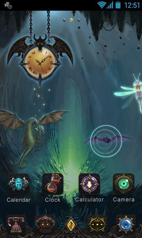 Mystical GO Super Theme-应用截图