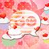 GO SMS Pro Theme Cupcake Heart 個人化 LOGO-阿達玩APP