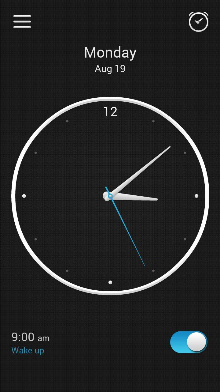 【免費生活App】简约闹钟-APP點子