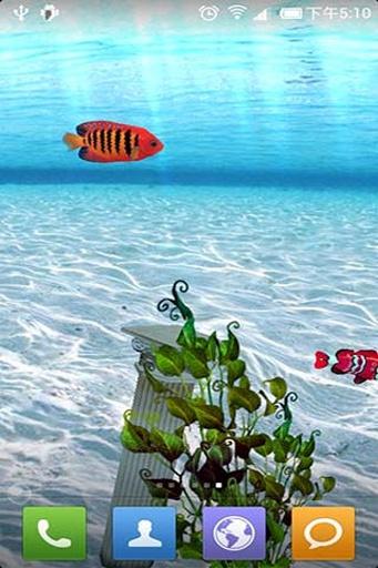 3D梦幻水族馆动态壁纸