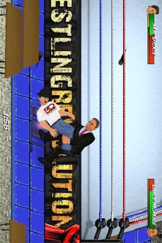 搞笑美式摔跤