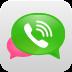 微信聊电话 社交 App LOGO-硬是要APP
